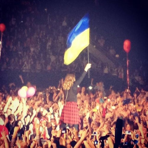 Джаред Лето на концерте в Киеве
