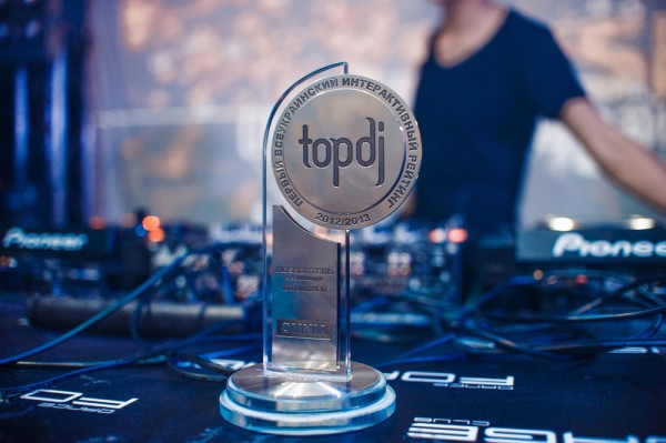 Церемония  TopDJ Awards 2012-2013 определила лучших диджеев Украины