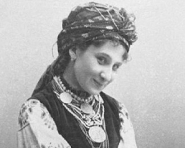 Заньковецкая в роли Наталки-Полтавки