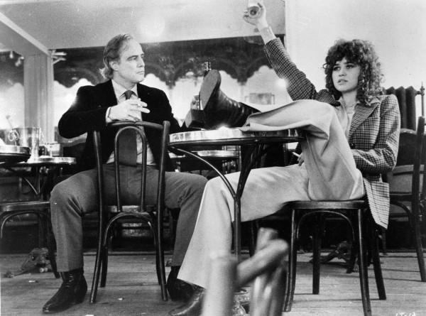 Марлон Брандо и Мария Шнайдер на съемках Последнего танго в Париже