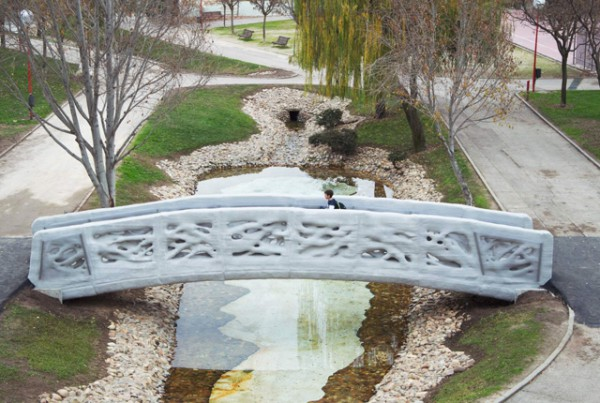 Пешеходный 3D мост