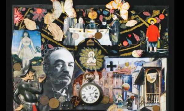 Фрагмент коллажа Александа Муратова, посвященного Сергею Параджанову