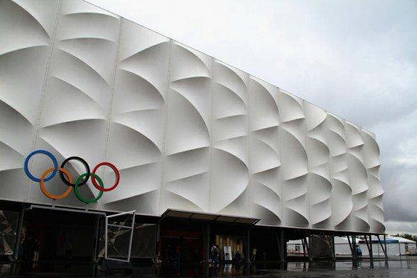 Баскетбольная Олимпийская арена бюро Wilkinson Eyre Architects