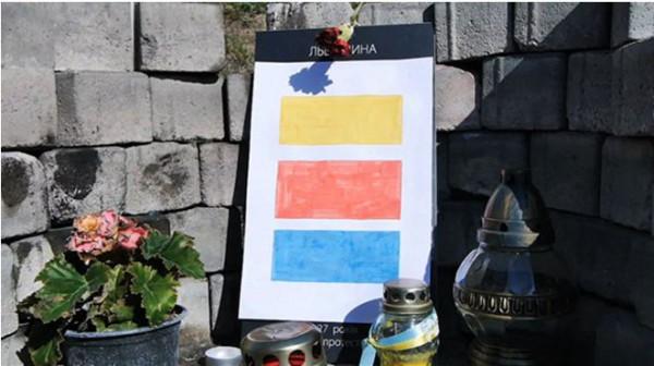 Кадр из ленты Война в Киеве