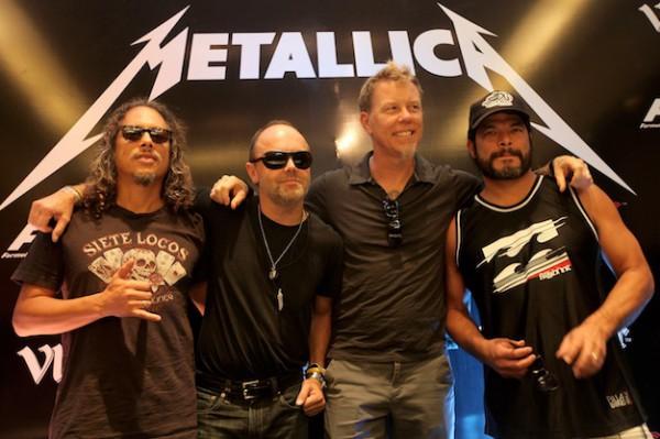 Новая лента Metallica Through The Never расскажет о трех ярких концертах легендарных рокеров