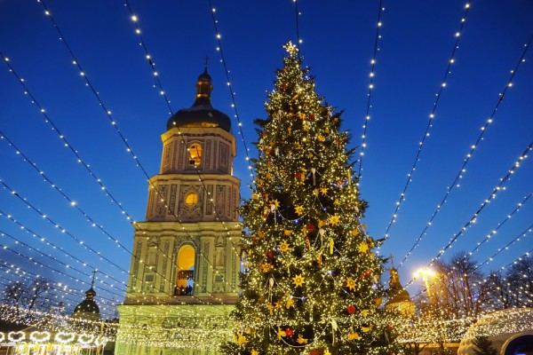 Киев готовится к Рождеству
