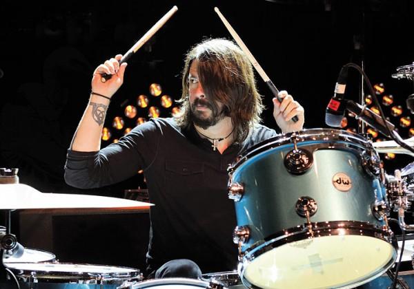 Дэйв Грол - один из лучших барабанщиков в истории рок-музыки