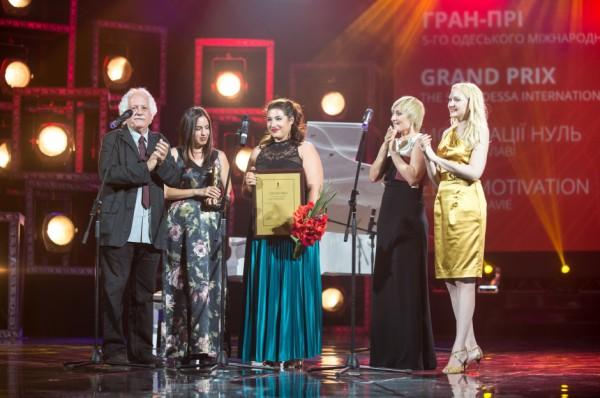 Гран-при Одесского кинофестиваля получила израильская картина Мотивации ноль.