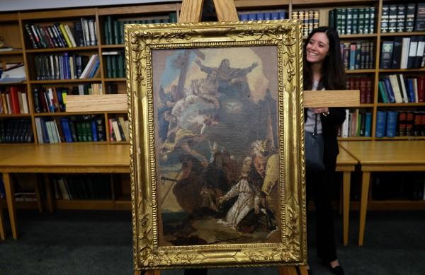 Джованни Баттиста Тьеполо (1696-1770 гг.) Явление Святой Троицы Св. Клементу