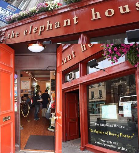 В этом кафе Джоан Роулинг писала первую книгу о Гарри Поттере.