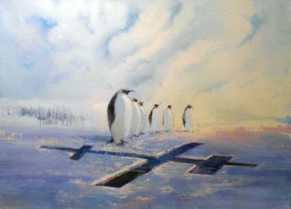 Ортодоксы (2011 г). Холст, масло, 150х200