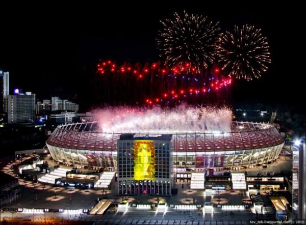 НСК Олимпийский празднует свое 90-летие. Фото с официального сайта: http://www.nsc-olimpiyskiy.com.ua/ru/gallery/photo_gallery/