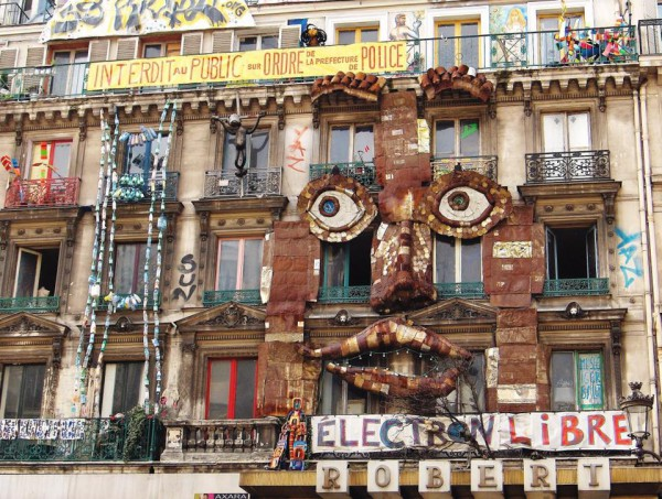 Артсквоты очень популярны в Париже, Берлине и Лос-Анджелесе.