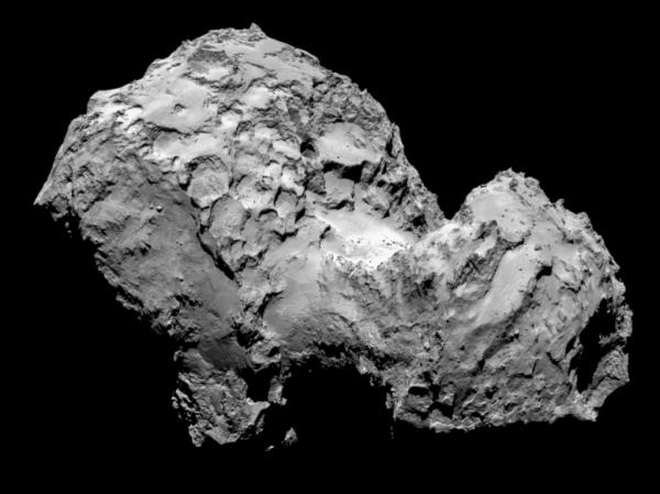 В этом году на комете Чурюмова-Герасименко найден иней.
