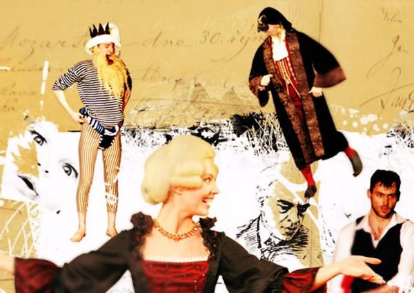 Снимок с главной страницы сайта театра