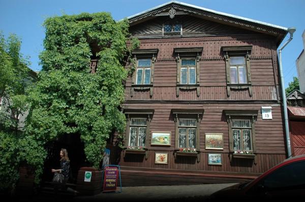 В начале 20 столетия эта усадьба принадлежала дворянке М. Чигринцевой.