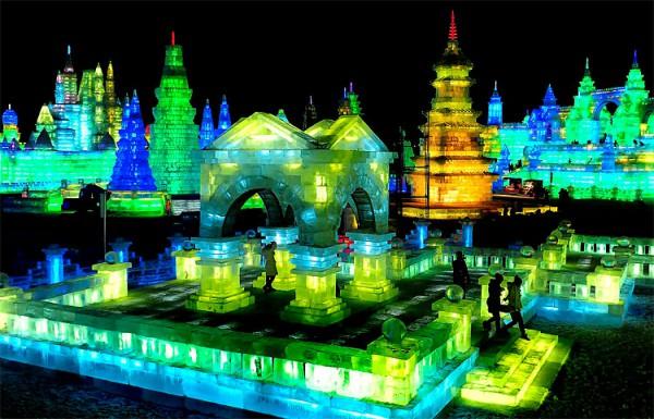 В Китае стартовал Международный фестиваль ледяных скульптур