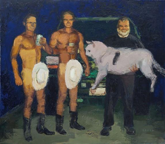 Игорь Гусев - украинский художник и лидер движения Арт-рейдеры.