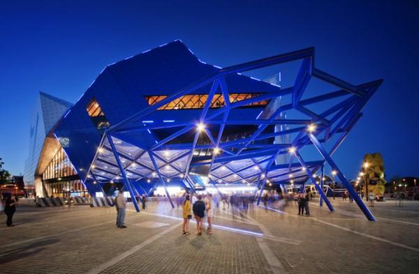 Perth Arena: новая спортивная арена Австралии