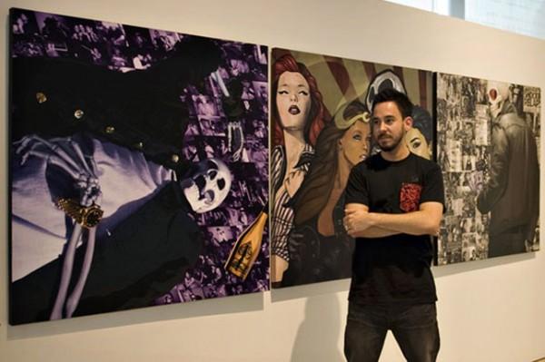 Майк Шинода закончил художественную школу