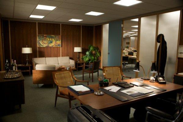 Офис Дрейпера в РА Sterling Cooper