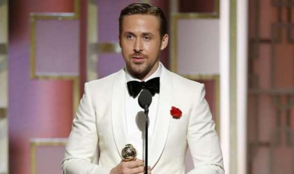 Райан Гослинг получил Золотой глобус как Лучший актер комедии или мюзикла
