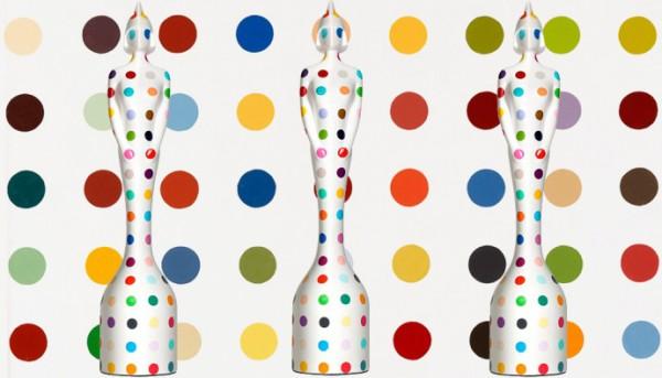 Дизайн новой статуэтки для Brit Awards 2013 от Дэмиена Херста