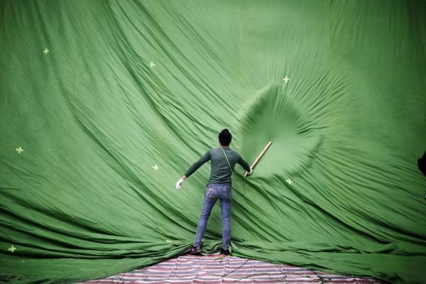 Работа фотографа Хулио Ди Стурко из серии Chollywood, которая заняла первое место в категории Горячие новости