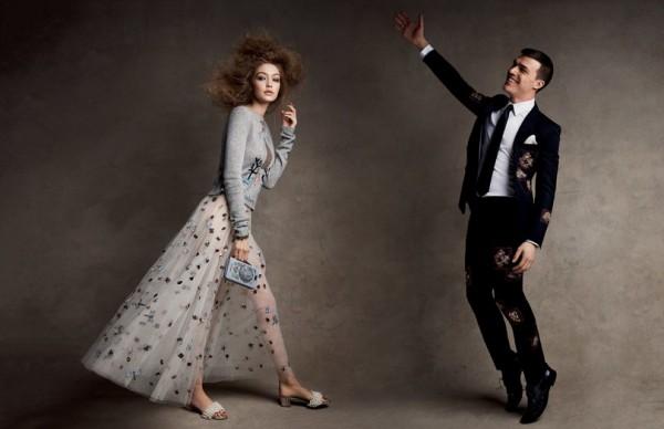 Джиджи Хадид в новом проекте Vogue