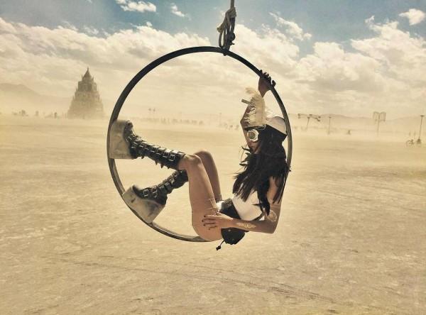 Burning Man 2015 прошел с 30 августа по 7 сентября