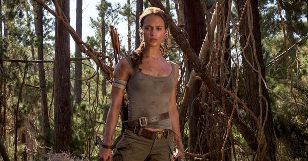 Алисия Викандер сыграла новую Лару Крофт.