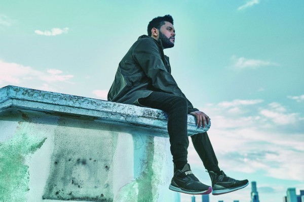 Weeknd в кроссовках Puma Ignite Limitless