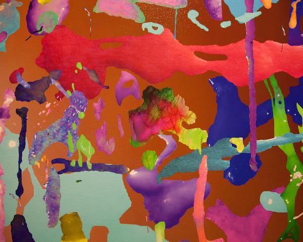 Суб/продукты - натуралистично-абстрактная картина коллективного творчества