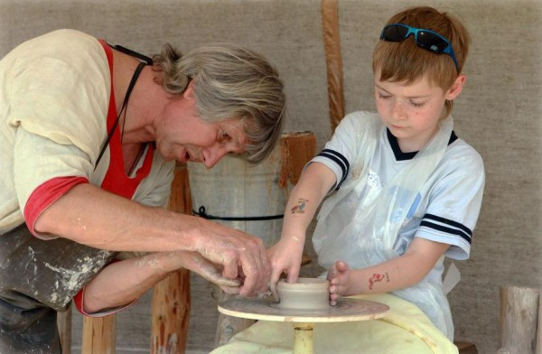 Урок народных ремесел в Парке Киевская Русь