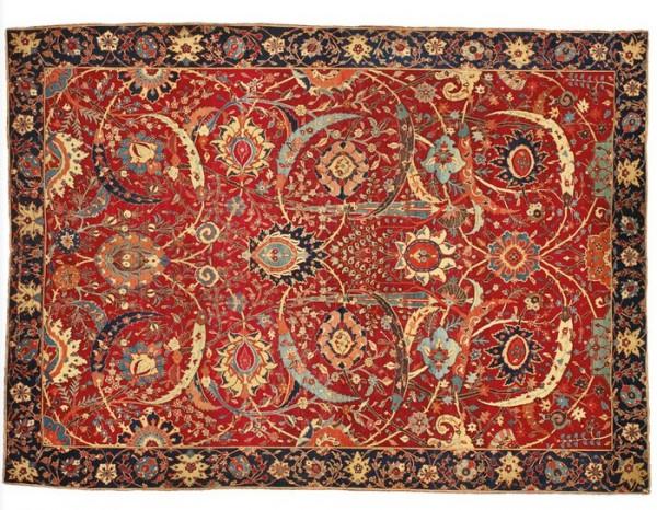 Более чем за 30 млн долларов ушел с молотка персидский ковер XVII века
