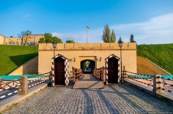 Печерская крепость-тюрьма Косой капонир