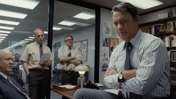 Том Хэнкс в Секретном досье Спилберга.