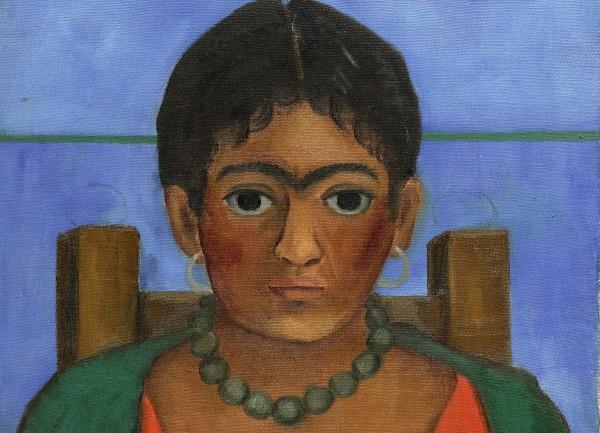 Картина Девушка с ожерельем, 1929