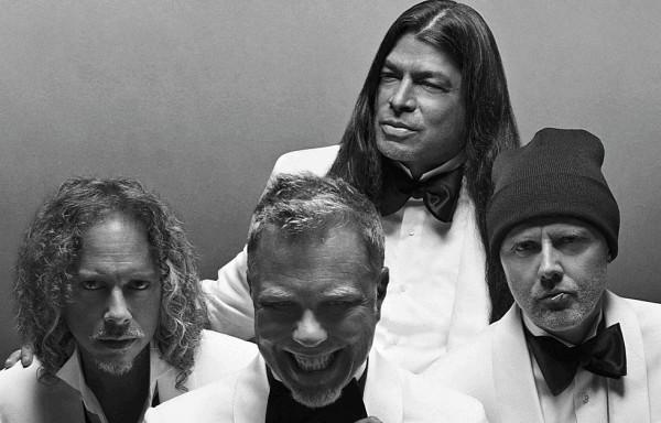 Metallica в рекламной кампании Brioni