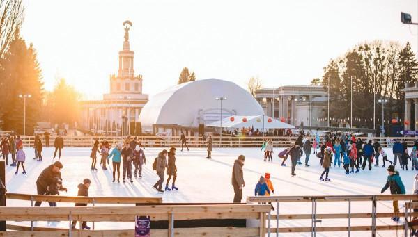 Зима на ВДНГ – авторский проект обновленного ВДНГ