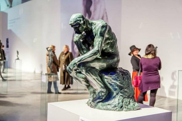 Виставка Шедеври світової пластики відкрита у Мистецькому арсеналі до 6 грудня