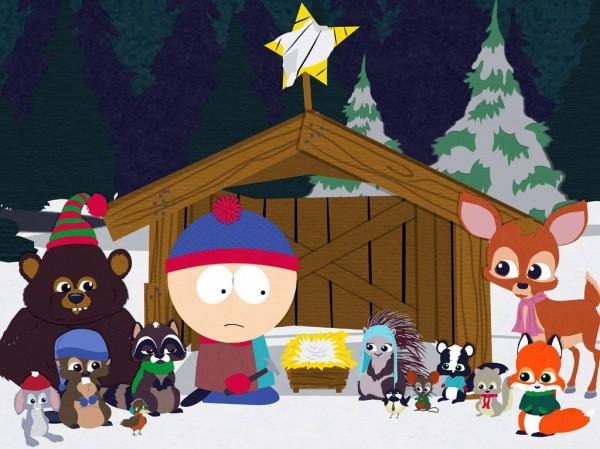 Новогодние песни не обошли стороной даже циничный South Park.