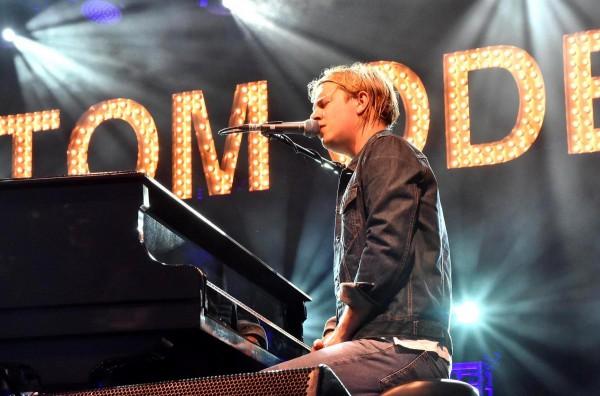Том Оделл впервые выступит в Украине