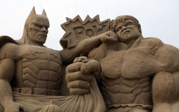 В Англии открылся Фестиваль песчаных скульптур