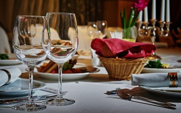 Пять мест для романтического ужина