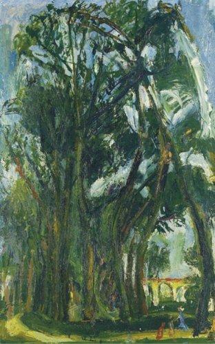 Хаим Сутин Большие луга в Шартре, предположительно 1934 год