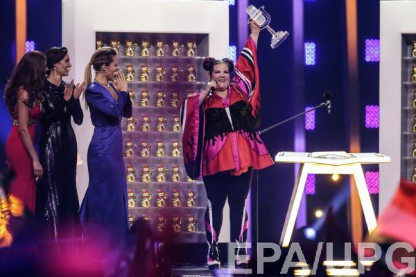 Нетта Барзилай победила в Евровидении