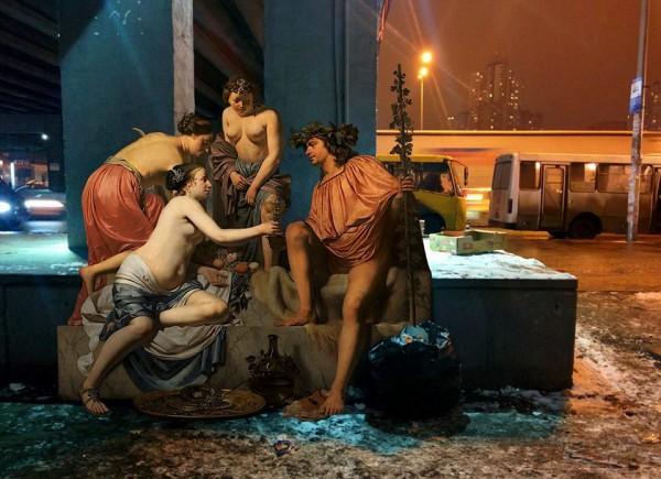 Картина из серии Повседневная жизнь богов