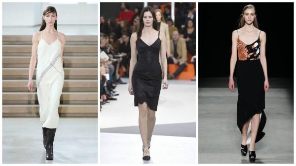Слева направо: Jil Sander, Louis Vuitton, Narciso Rodrigez