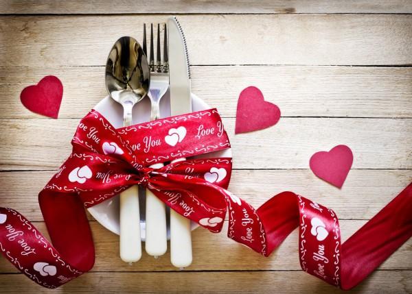 День Святого Валентина - отличный повод сходить в ресторан